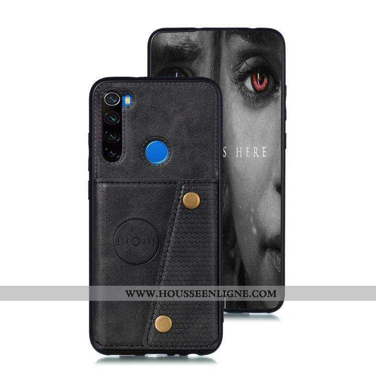 Coque Xiaomi Redmi Note 8t Protection Fluide Doux Support En Silicone Noir Téléphone Portable