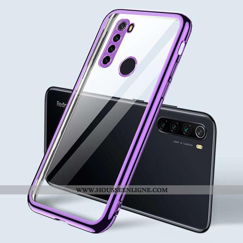 Coque Xiaomi Redmi Note 8t Ultra Tendance Fluide Doux Tout Compris Incassable Marque Créatif Violet