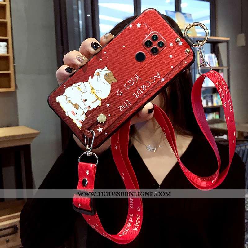 Coque Xiaomi Redmi Note 9 Pro Fluide Doux Silicone Étui Tout Compris Ornements Suspendus Incassable