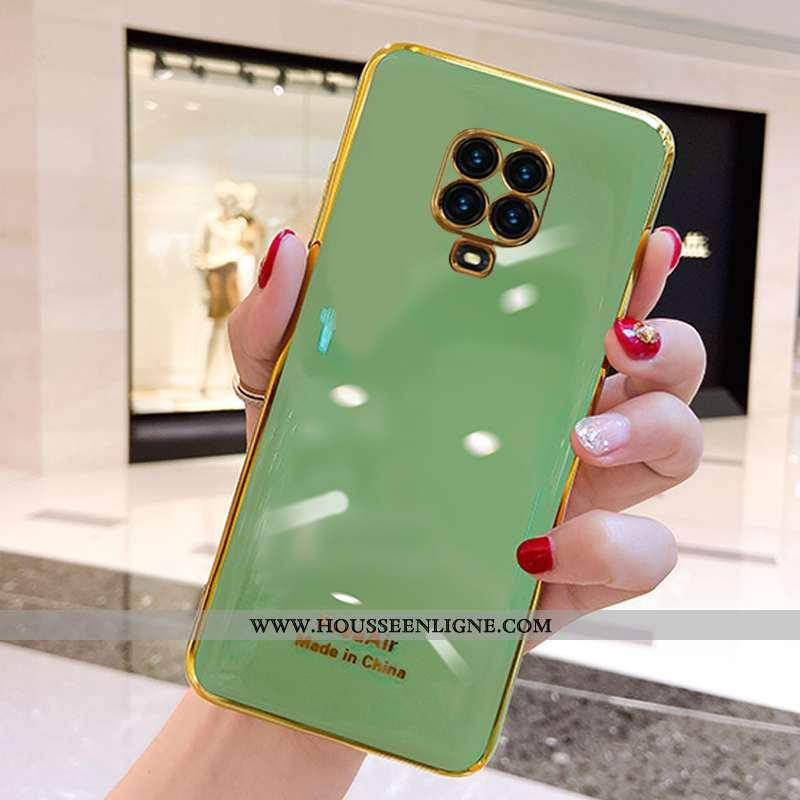 Coque Xiaomi Redmi Note 9 Pro Fluide Doux Silicone Net Rouge Personnalité Incassable Étui Téléphone