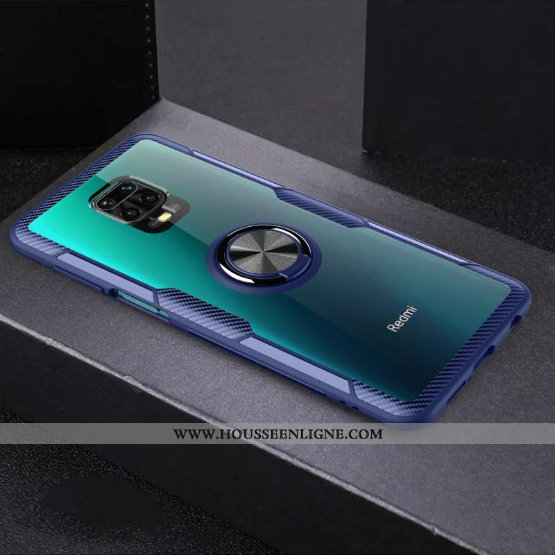 Coque Xiaomi Redmi Note 9 Pro Silicone Protection Bleu Marin Tout Compris Téléphone Portable Rouge F