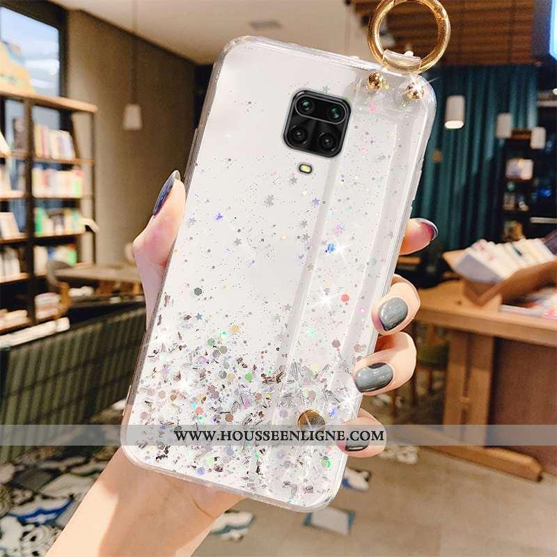 Coque Xiaomi Redmi Note 9 Pro Transparent Fluide Doux Luxe Téléphone Portable Tout Compris Nouveau B