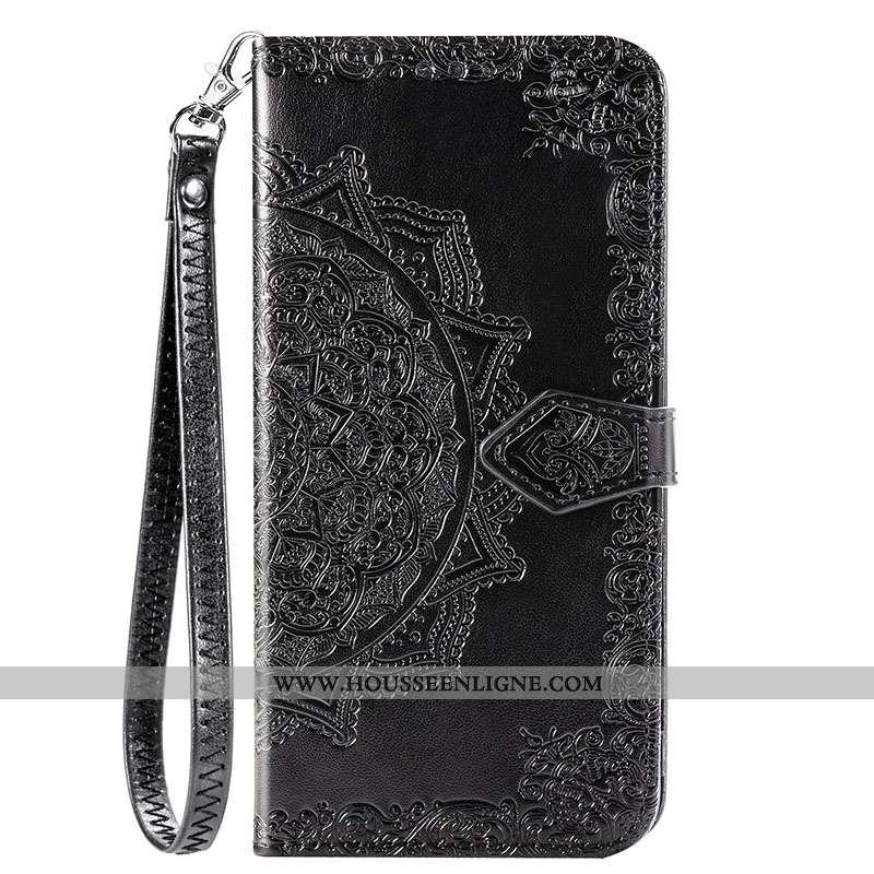 Coque Xiaomi Redmi Note 9 Protection Fluide Doux Incassable Étui Petit Rouge Tout Compris Noir