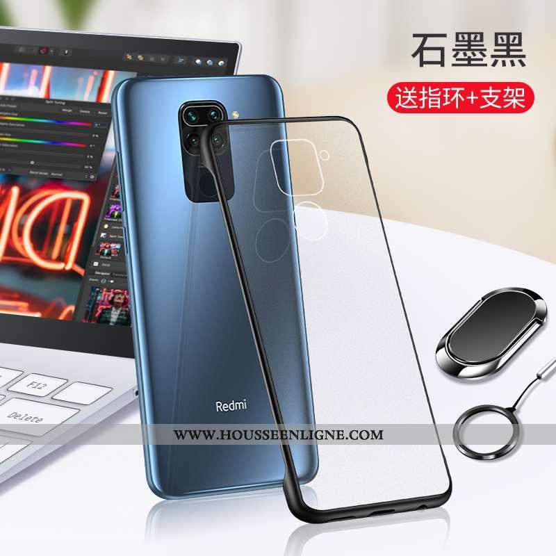 Coque Xiaomi Redmi Note 9 Transparent Personnalité Étui Petit Tout Compris Incassable Noir