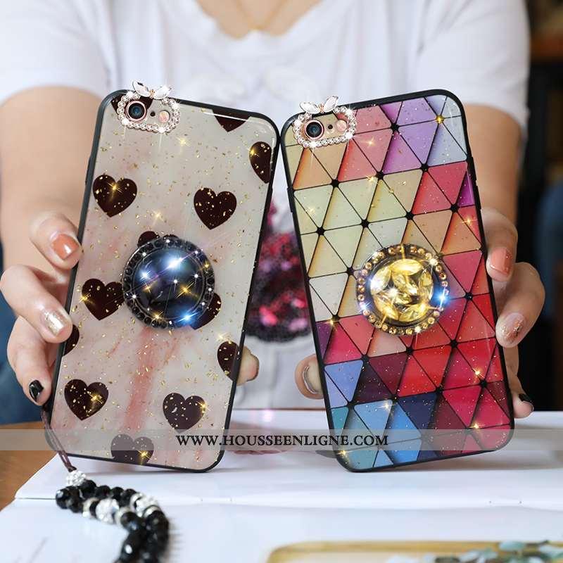 Coque iPhone 6/6s Fluide Doux Protection Tout Compris Tendance Étui Camouflage Incassable