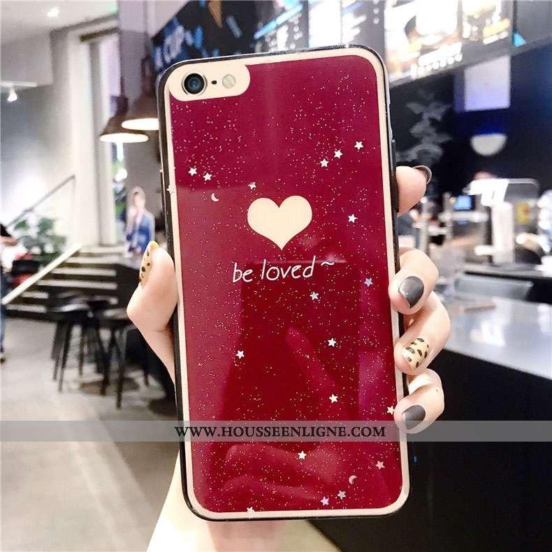 Coque iPhone 6/6s Personnalité Créatif Rouge Tout Compris Étui Protection
