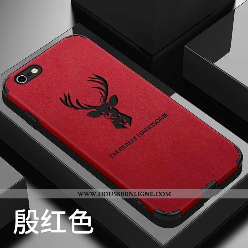 Coque iPhone 6/6s Plus Tendance Fluide Doux Rouge Créatif Europe Net Rouge