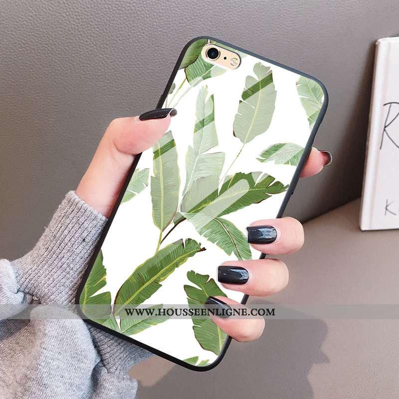Coque iPhone 6/6s Plus Verre Ultra Vert Légère Incassable Téléphone Portable Verte