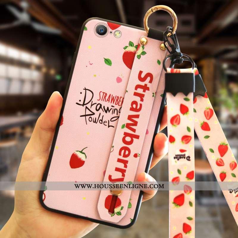 Coque iPhone 6/6s Tendance Silicone Téléphone Portable Rose