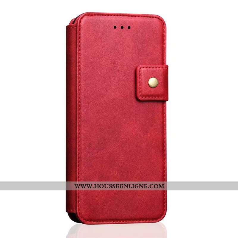 Coque iPhone 7 Cuir Protection Business Créatif Incassable Tout Compris Rouge