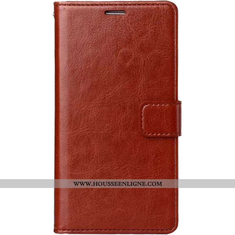 Coque iPhone 7 Plus Portefeuille Cuir Téléphone Portable Incassable Tout Compris Pu Marron