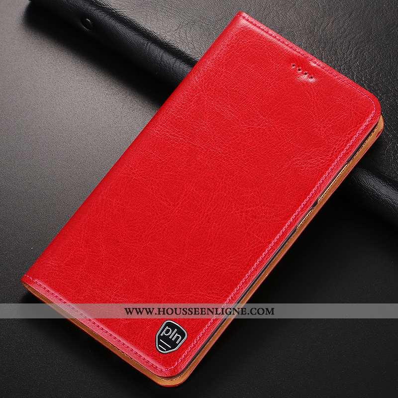 Coque iPhone Se (nouveau) Protection Cuir Véritable Incassable Modèle Fleurie Tout Compris Étui Roug