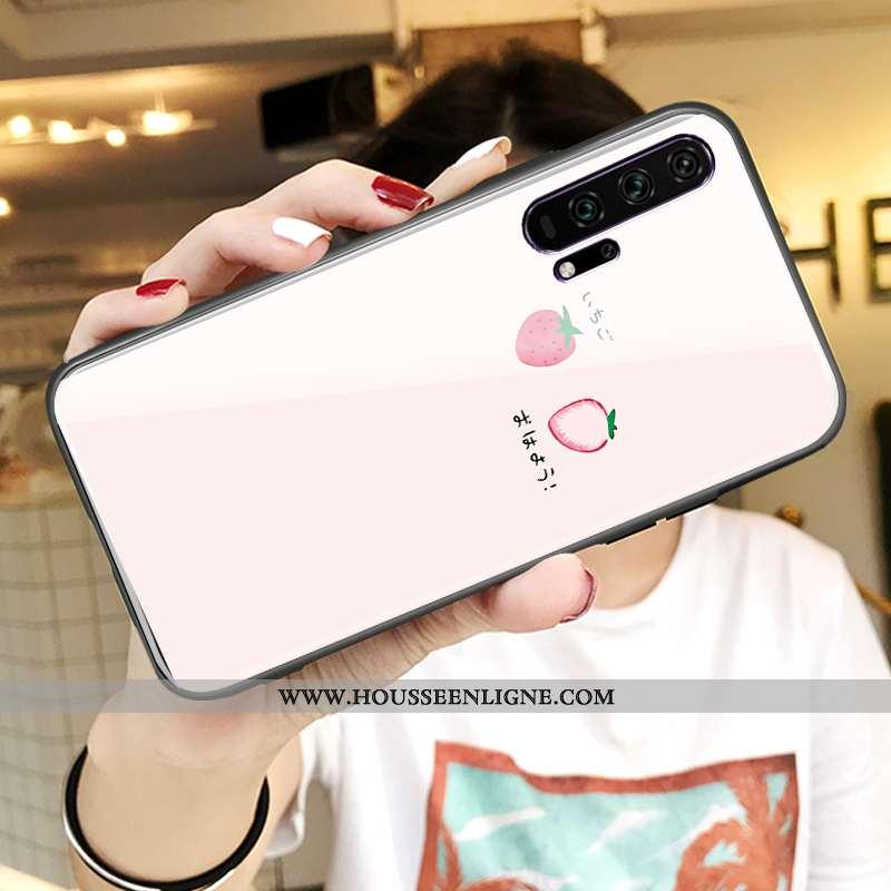 Housse Honor 20 Pro Tendance Légère Rose Téléphone Portable Tout Compris Fluide Doux Nouveau