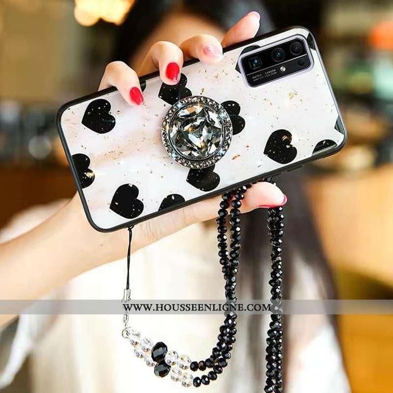 Housse Honor 30 Mode Protection Téléphone Portable Tendance Incassable Coque Créatif Blanche