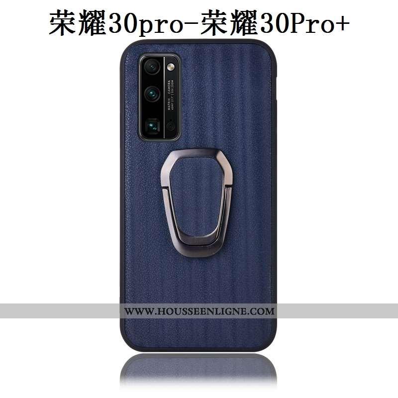Housse Honor 30 Pro Modèle Fleurie Protection Bleu Marin Téléphone Portable Étui Incassable Coque Bl