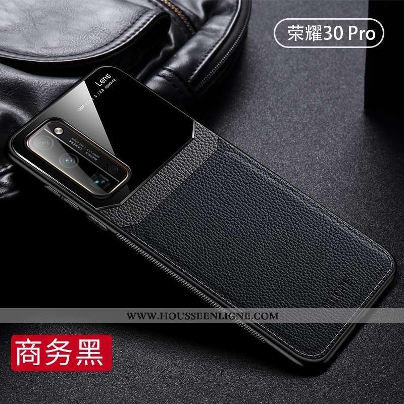 Housse Honor 30 Pro Silicone Protection Noir Tout Compris Luxe Légère Étui