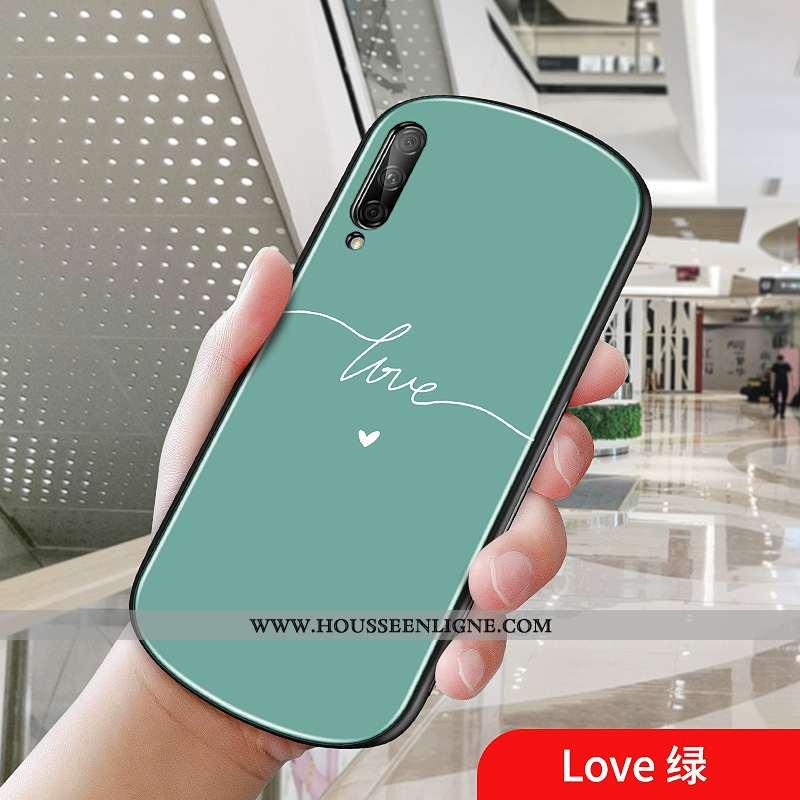 Housse Honor 9x Pro Coque Frais Vert Simple Téléphone Portable Verte