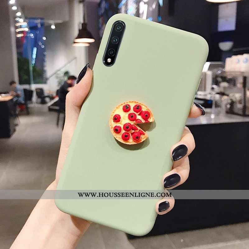 Housse Honor 9x Pro Fluide Doux Téléphone Portable Coque Jeunesse Incassable Tout Compris Vert Verte