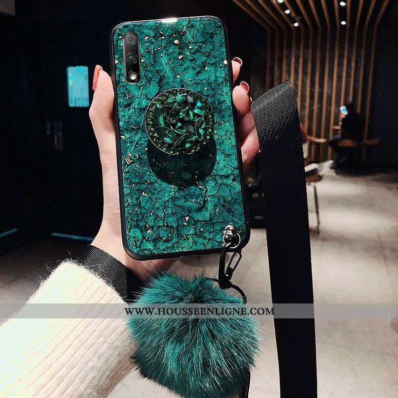 Housse Honor 9x Protection Ornements Suspendus Tendance Téléphone Portable Vert Tout Compris Incassa