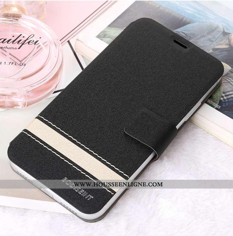 Housse Honor View30 Cuir Protection Étui Téléphone Portable Business Noir Clamshell