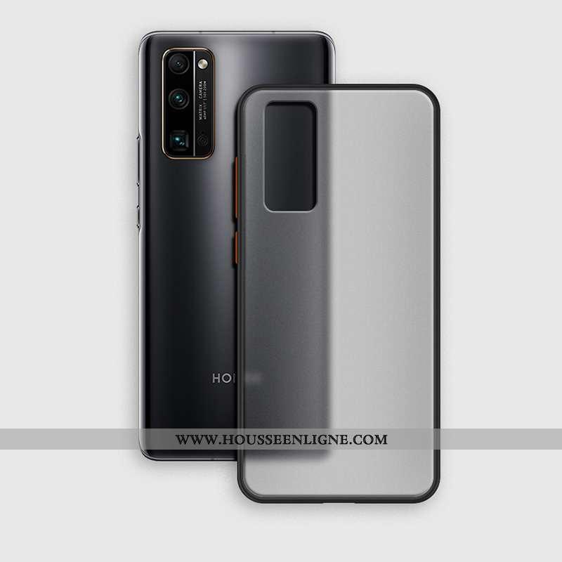 Housse Honor View30 Délavé En Daim Ultra Tout Compris Transparent Téléphone Portable Simple Tendance