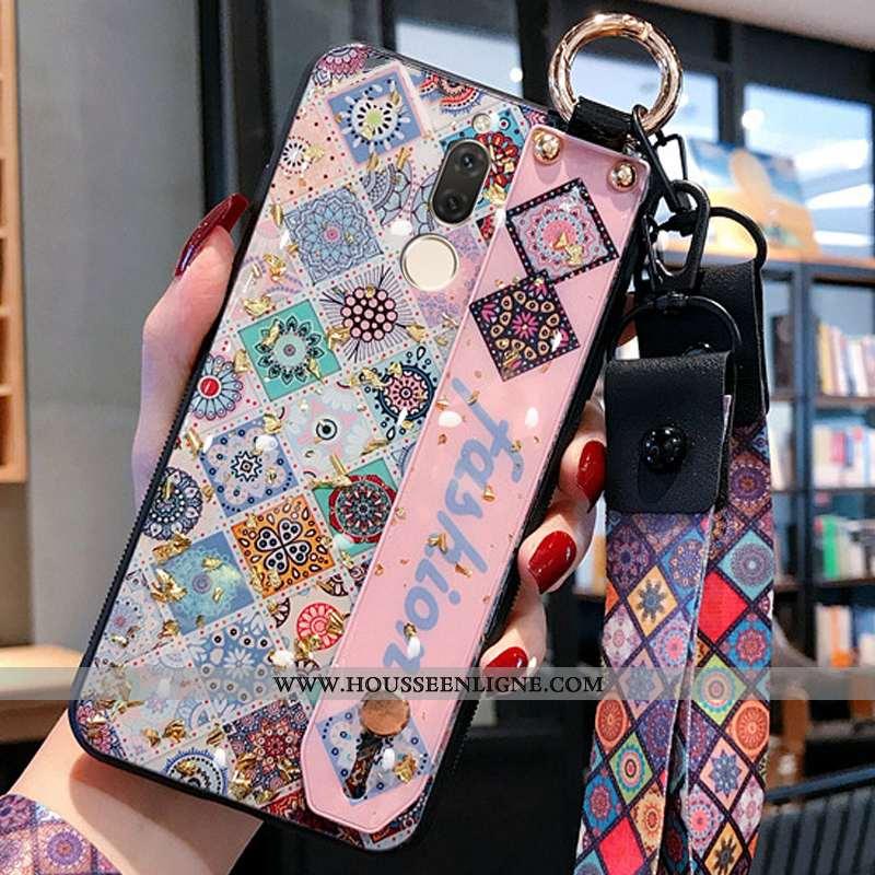 Housse Huawei Mate 10 Lite Fluide Doux Silicone Légère Or Miroir Personnalité Téléphone Portable Ros