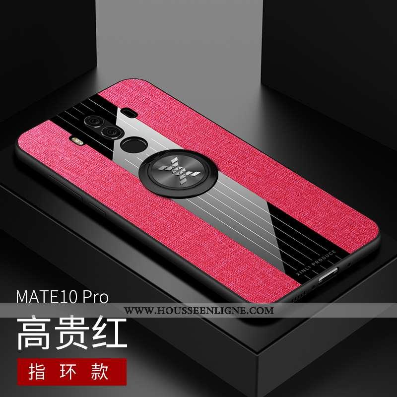 Housse Huawei Mate 10 Pro Personnalité Créatif Tendance Protection Silicone Coque Étui Rose