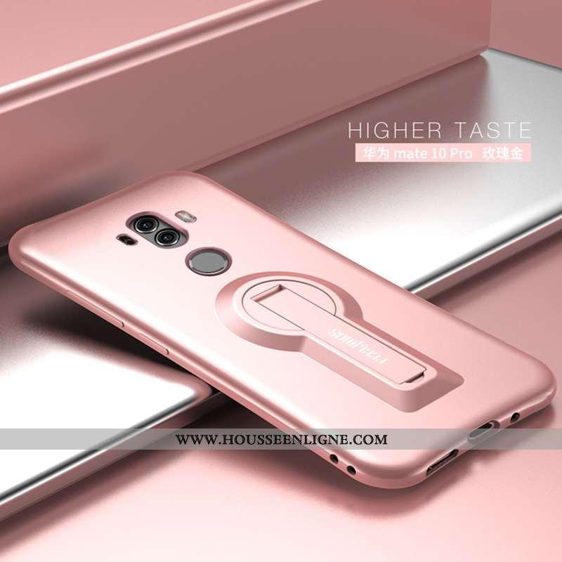 Housse Huawei Mate 10 Pro Tendance Légère Téléphone Portable Rose Support Tout Compris Coque