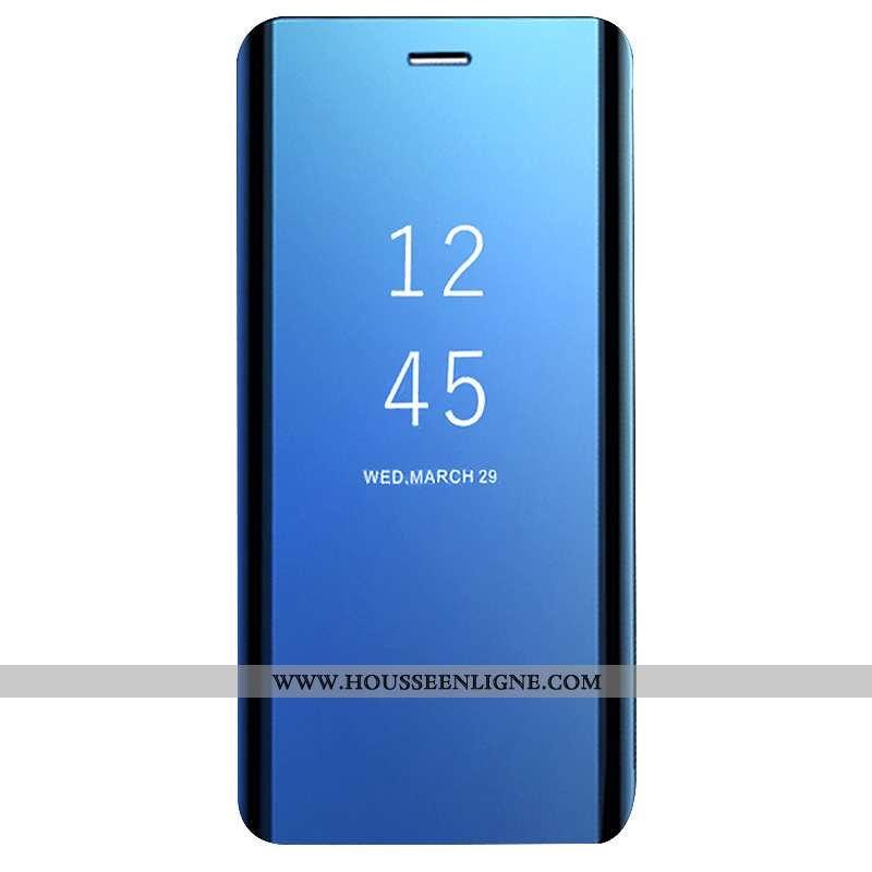 Housse Huawei Mate 20 Lite Protection Créatif Dormance Incassable Bleu Clamshell Coque