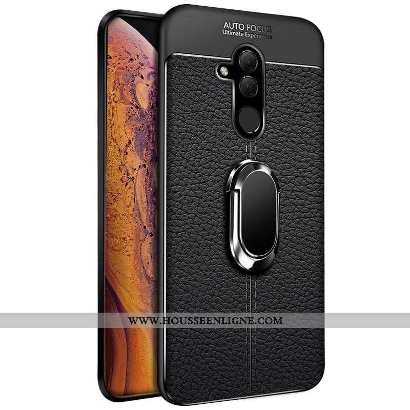 Housse Huawei Mate 20 Lite Silicone Transparent Personnalité Coque Noir Téléphone Portable Fluide Do