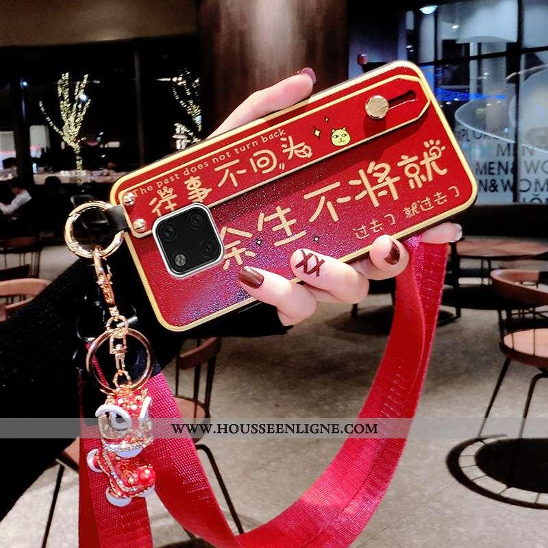 Housse Huawei Mate 20 Pro Ornements Suspendus Personnalité Créatif Coque Téléphone Portable Rouge Ra