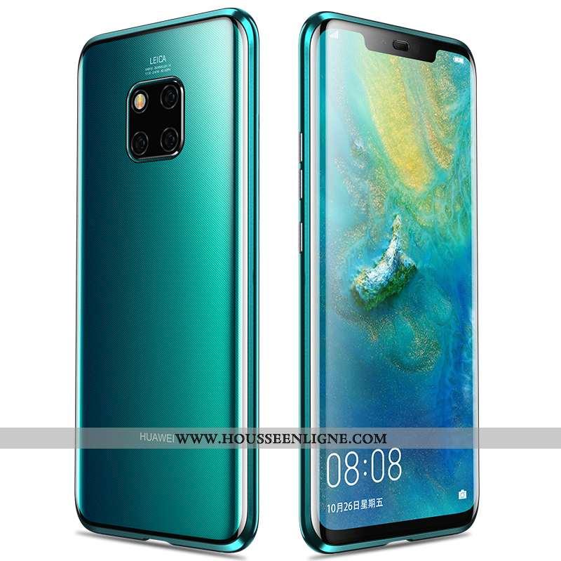 Housse Huawei Mate 20 Pro Protection Métal Tout Compris Téléphone Portable Vert Étui Incassable Vert