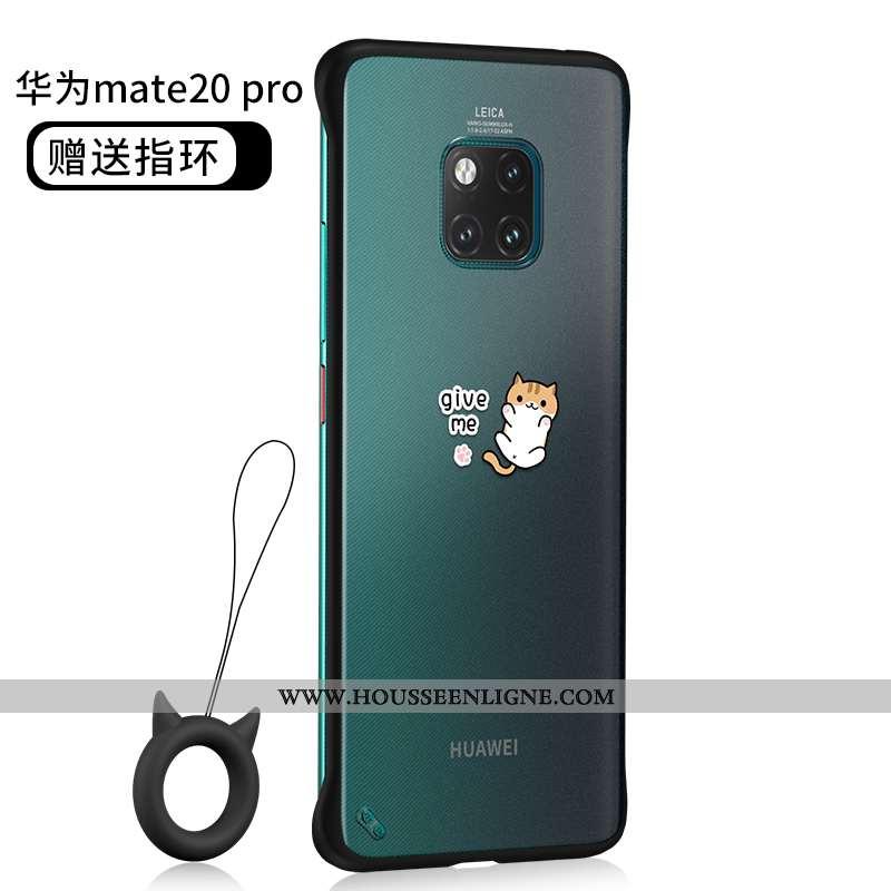 Housse Huawei Mate 20 Pro Silicone Protection Téléphone Portable Délavé En Daim Ultra Coque Border N