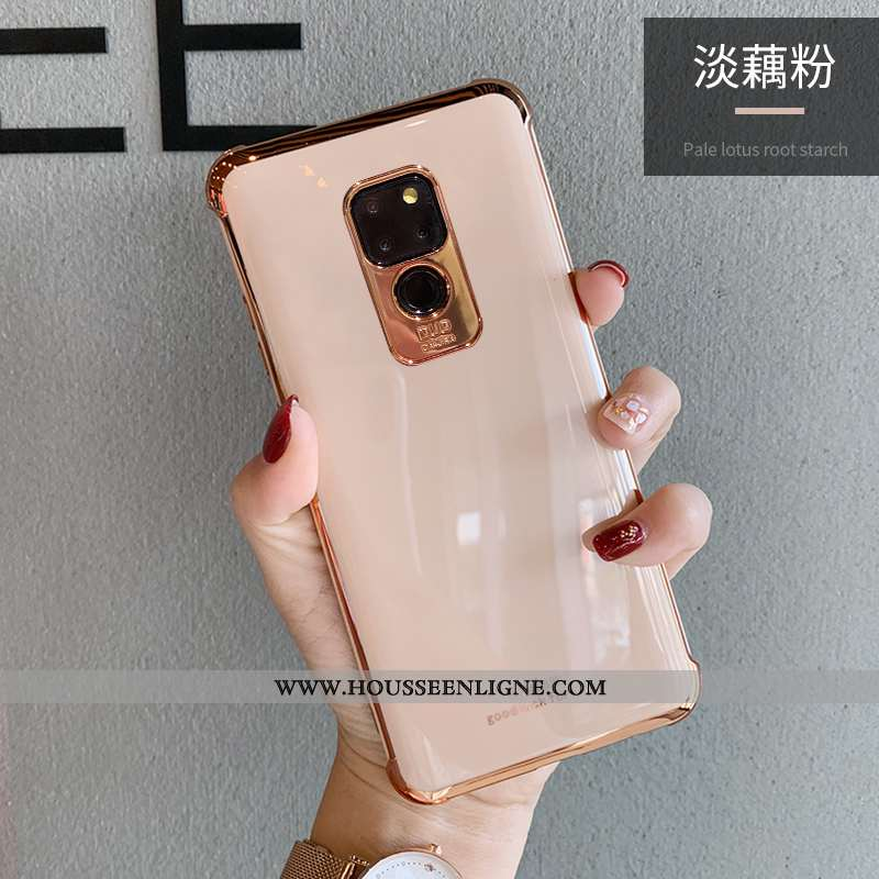 Housse Huawei Mate 20 Ultra Tendance Rose Protection Incassable Mode Coque