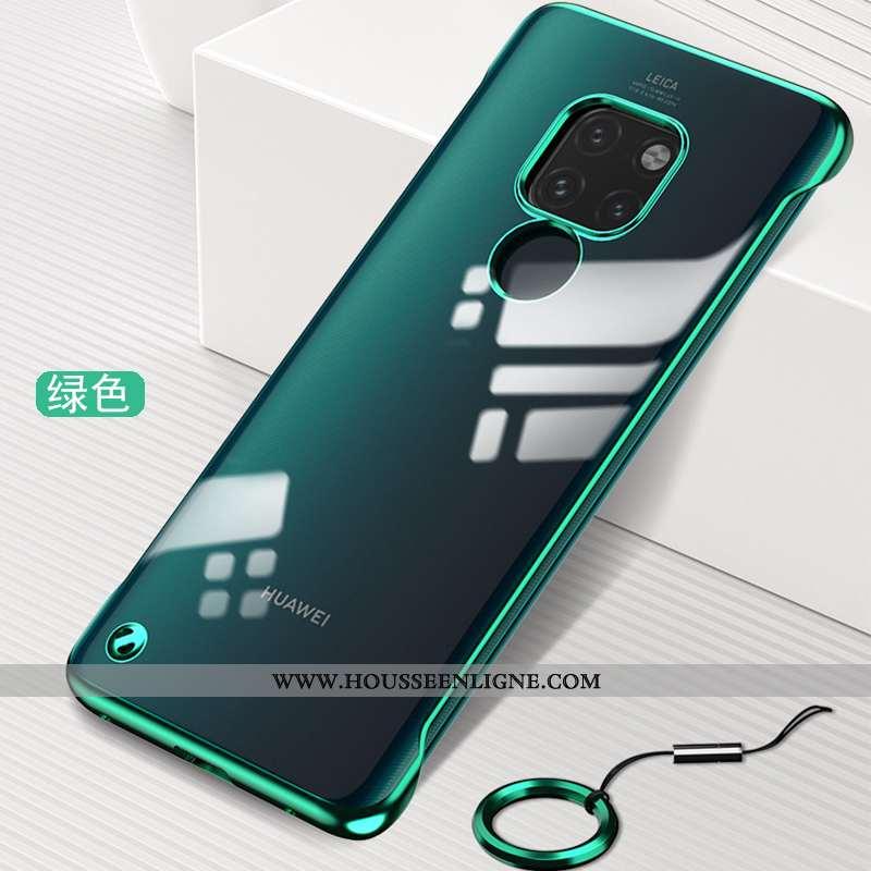 Housse Huawei Mate 20 Ultra Tendance Silicone Étui Téléphone Portable Protection Incassable Verte