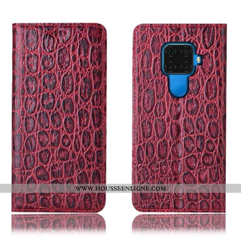 Housse Huawei Mate 30 Lite Modèle Fleurie Protection Coque Incassable Téléphone Portable Étui Bordea