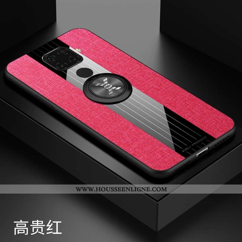 Housse Huawei Mate 30 Lite Protection Modèle Fleurie Incassable À Bord Une Agrafe Téléphone Portable