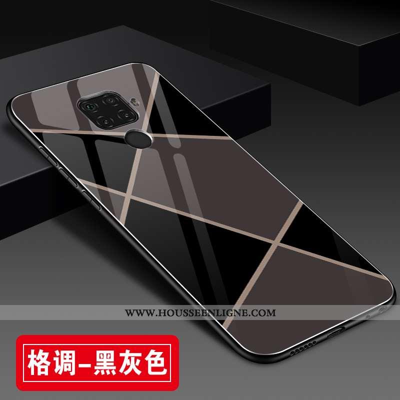 Housse Huawei Mate 30 Lite Protection Verre Personnalité Coque Étui Mode Tout Compris Noir