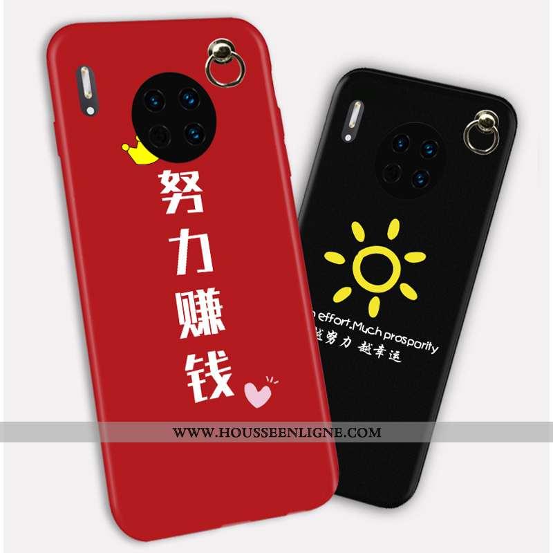 Housse Huawei Mate 30 Personnalité Créatif Rouge Tout Compris Incassable Net Rouge Protection
