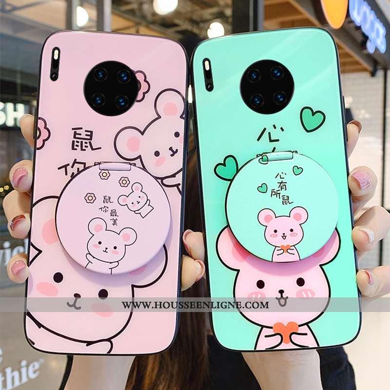 Housse Huawei Mate 30 Pro Dessin Animé Charmant Jeunesse Coque Rouge Téléphone Portable Protection V