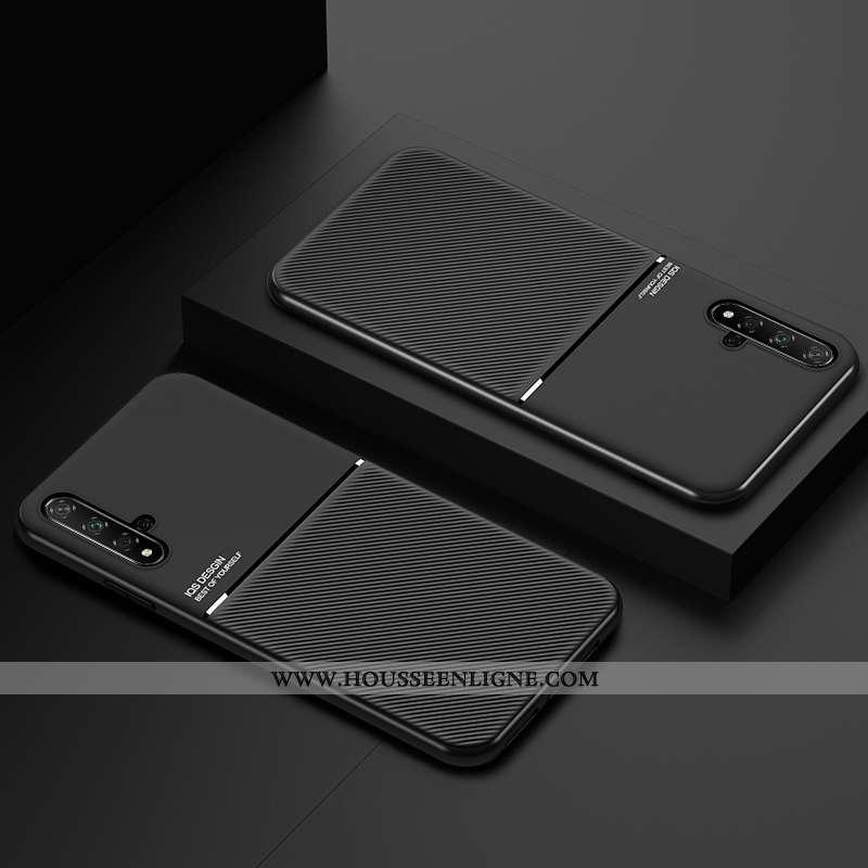 Housse Huawei Nova 5t Protection Ultra Silicone Coque Jeunesse À Bord Noir