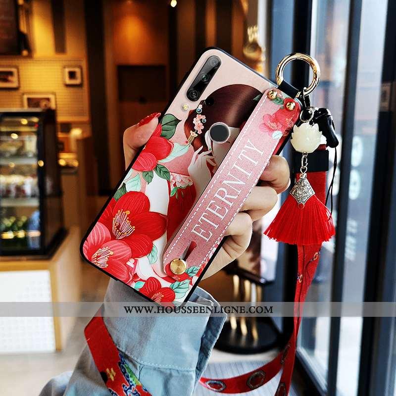 Housse Huawei P Smart+ 2020 Cou Suspendu Fluide Doux Tout Compris Net Rouge Rouge Coque Nouveau