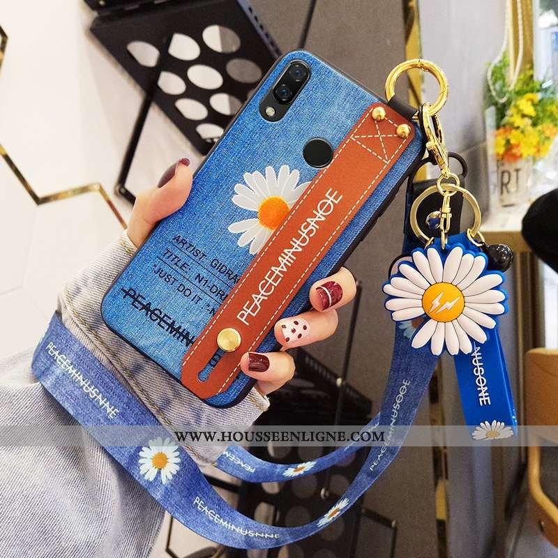 Housse Huawei P Smart+ Tendance Légère Personnalité Mode Ultra Incassable Étui Bleu