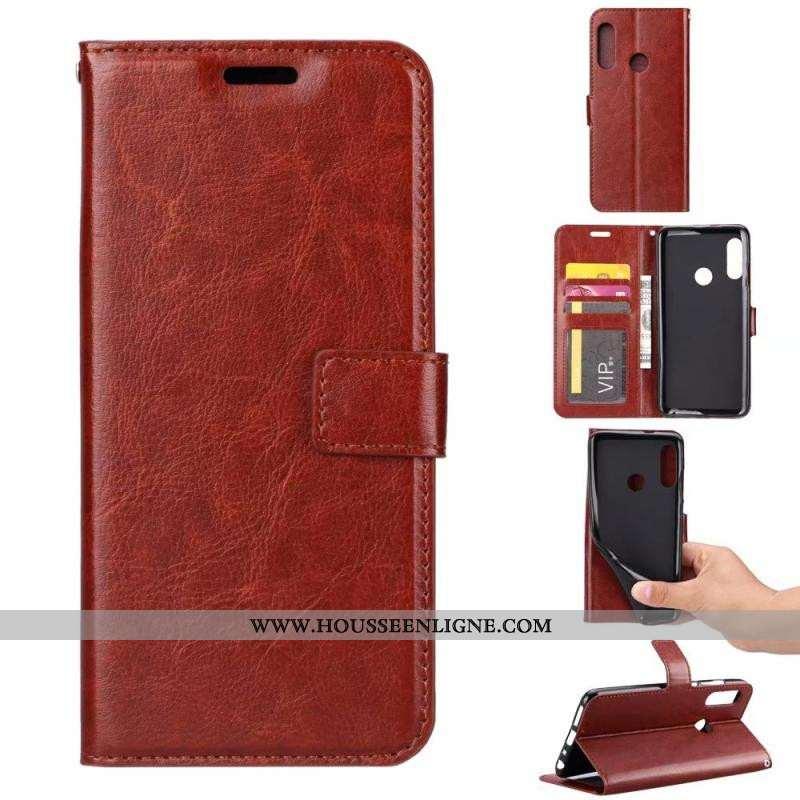 Housse Huawei P Smart Z Protection 2020 Coque Téléphone Portable Étui Marron