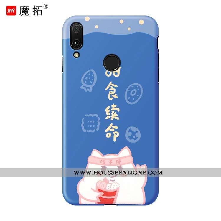 Housse Huawei P20 Lite Mode Personnalité Étui Tendance Tout Compris Jeunesse Silicone Bleu
