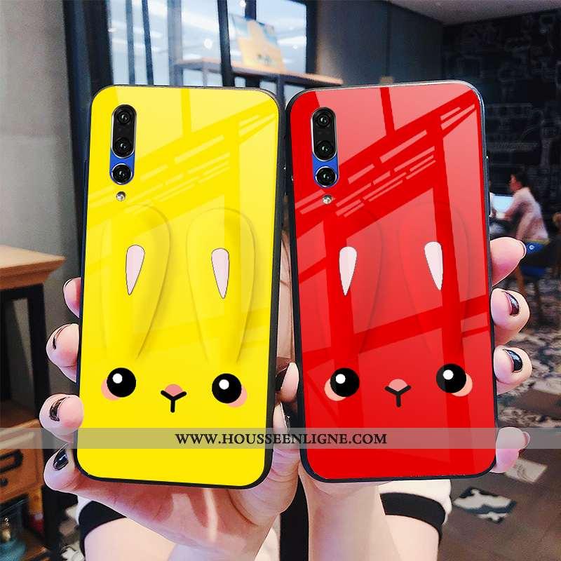 Housse Huawei P20 Pro Dessin Animé Tendance Lapin Coque Téléphone Portable Étui Personnalité Jaune