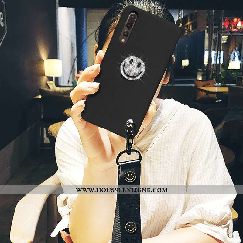 Housse Huawei P20 Pro Ultra Tendance Noir Étui Tout Compris Luxe Incassable