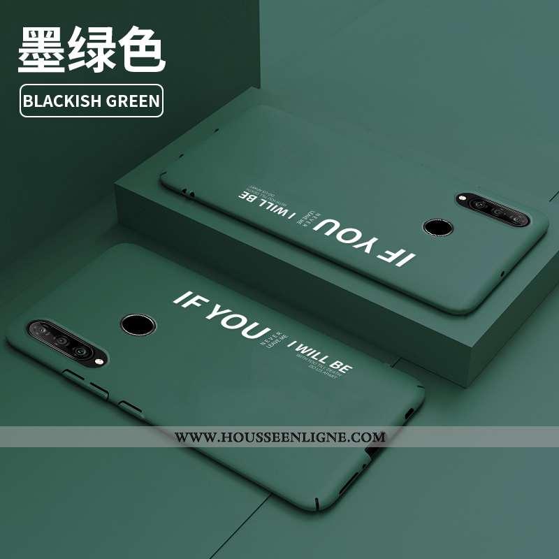 Housse Huawei P30 Lite Personnalité Créatif Tendance Ultra Net Rouge Protection Légère Verte