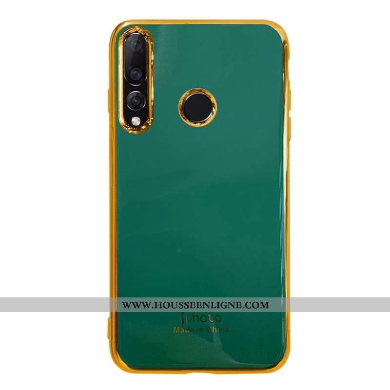 Housse Huawei P30 Lite Xl Fluide Doux Silicone Vert Téléphone Portable Gris Ultra Tendance Turquoise