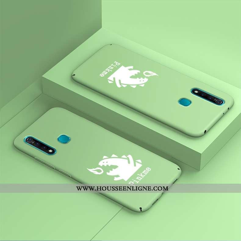 Housse Huawei P30 Lite Xl Protection Délavé En Daim Vert Difficile Étui Tendance Incassable Verte
